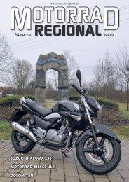 Motorrad-Messe UlM doloMiten sUzUki inazUMa 250