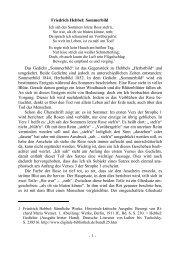 """Friedrich Hebbel: Sommerbild Das Gedicht """"Sommerbild"""" ist das ..."""