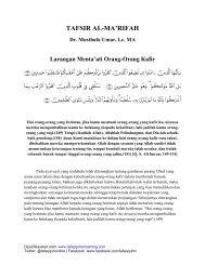 Ali-Imran 149-151