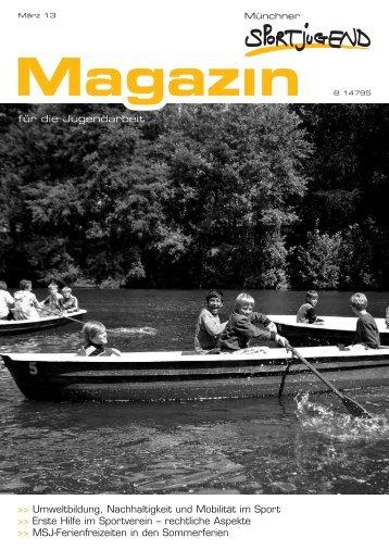 MSJ Magazin 1/2013 - Münchner Sportjugend