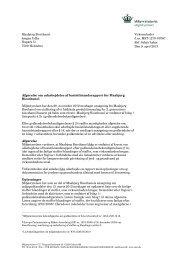 Afgørelse om basistilstandsrapport for Maabjerg Bioethanol