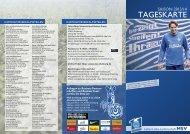 TAGESKARTE - MSV Duisburg