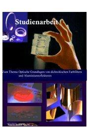 Zum Thema: Optische Grundlagen von dichroitischen Farbfiltern und ...