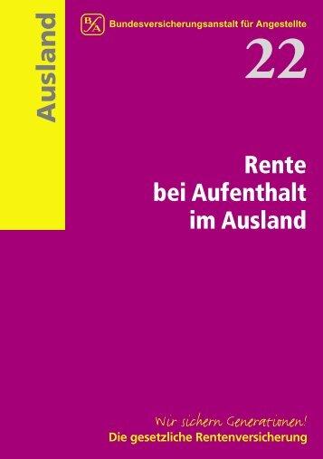 Bfa Information 22 - Eu-Info.deutschland