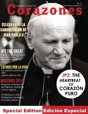 Corazones: St. JP2 Special Edition / Edición Especial
