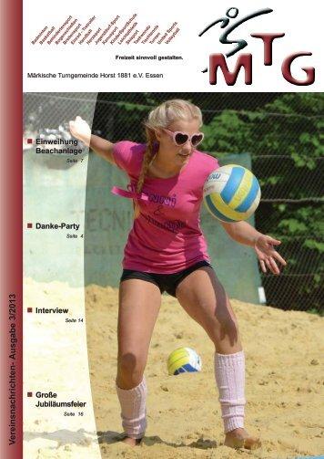 V ereinsnachrichten- Ausgabe 3/2013 - MTG Horst