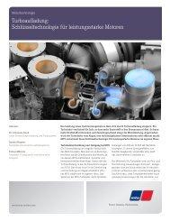 Turboaufladung: Schlüsseltechnologie für leistungsstarke ... - MTU