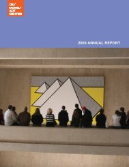 2009 annual report - Des Moines Art Center