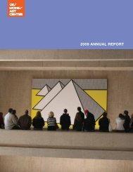 2009 annual report - Des Moines Art Center
