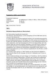 Niederschrift 07.06.2013