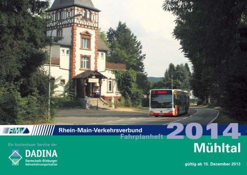 Neues Fahrplanheft - Gemeinde Mühltal