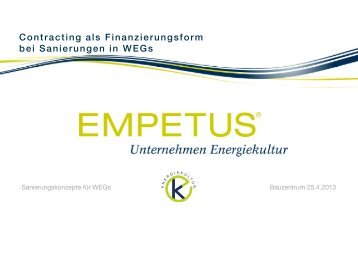 Contracting bei Sanierungen in WEGs-pdf4 - muenchner-fachforen.de