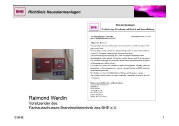 Richtlinie Hausalarmanlagen - muenchner-fachforen.de