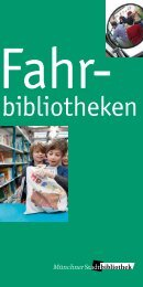Fahrbibliotheken (pdf) - Münchner Stadtbibliotheken