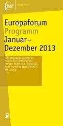 Jahresprogramm - Münchner Stadtbibliotheken