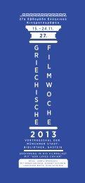 Flyer der Filmwoche (PDF) - Münchner Stadtbibliotheken