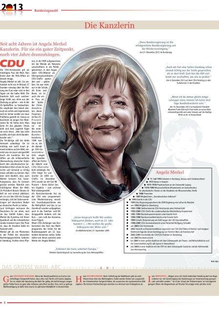 Beilage zur Bundestagswahl zum Download
