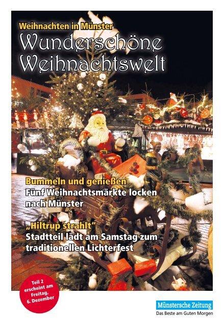 Weihnachten In Mã¼nster Mã¼nstersche Zeitung