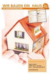 Wir bauen ein Haus - Fristen und Verträge