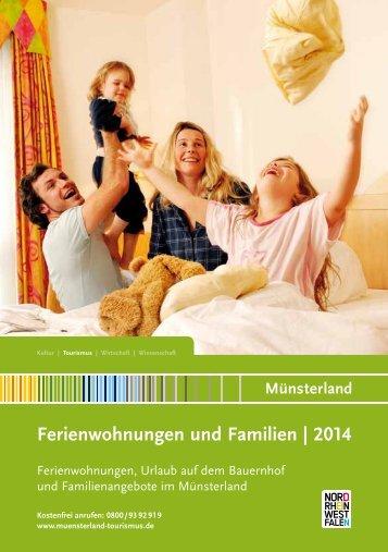 Ferienwohnungen und Familien | 2014 - Münsterland