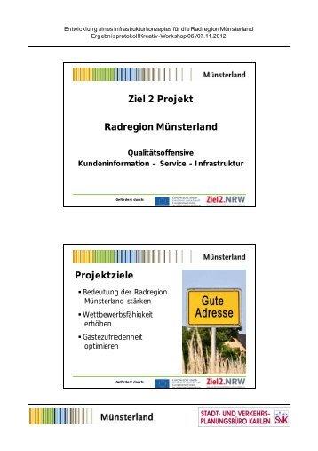 Auftaktvortrag - Münsterland