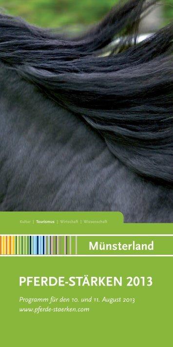 PFERDE-STÄRKEN 2013 - Münsterland