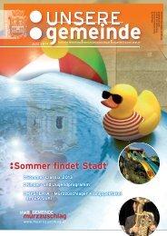 Sommer findet Stadt - Stadtgemeinde Mürzzuschlag