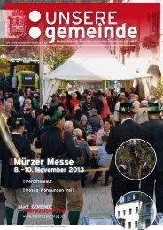 Mürzer Messe - Stadtgemeinde Mürzzuschlag