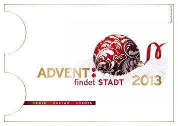 """""""Advent findet Stadt""""-Programm - Stadtgemeinde Mürzzuschlag"""