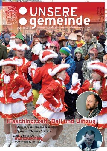 Faschingszeit: Ball und Umzug - Stadtgemeinde Mürzzuschlag