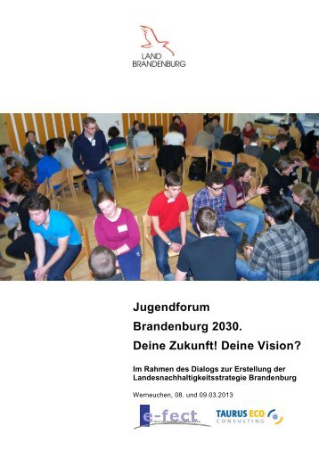 doku_jugendforum.pdf - MUGV - Land Brandenburg