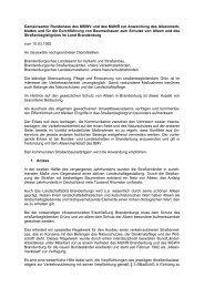 Gemeinsamer Runderlass des MSWV und des MUNR zur ... - MUGV