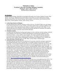 Meeting #3: July 11, 2013 - Muhlenberg College