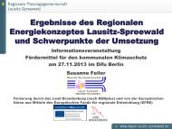 Das Regionale Energiekonzept Lausitz-Spreewald im ... - MUGV