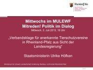 Tiere_Vortrag_Ministerin_Verbandsklage.pd... - Ministerium für ...