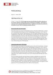 Medienmitteilung 11. Januar 2014 (pdf) - Schweizerische Multiple ...
