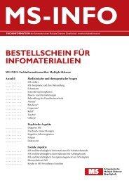 Download - Schweizerische Multiple Sklerose Gesellschaft