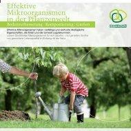 Effektive Mikroorganismen in der Pflanzenwelt - Multikraft