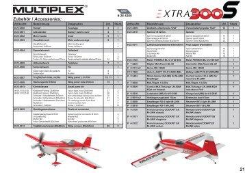 Extra300S (Service) - Multiplex