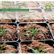 Effektive Mikroorganismen im Gartenbau - Multikraft