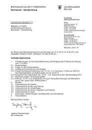Tagesordnung der nächsten Sitzung - Rathaus