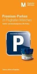 Premium-Parken im Flughafen München