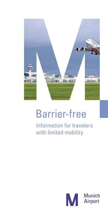 Flughafen München – Barrier-free