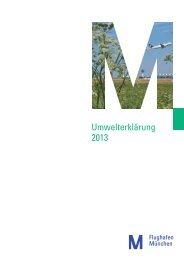 Umwelterklärung 2013 (pdf) - Flughafen München