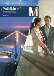 Politikbrief 02/13 - Dezember 2013 (pdf) - Flughafen München