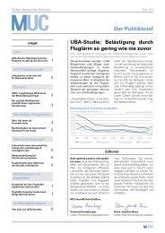 Politikbrief 13/01 - März 2013 (pdf) - Flughafen München