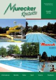 Ausgabe 2013/2 Informationen Berichte Kultur Sport ... - Mureck
