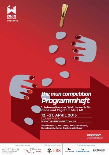the muri competition Programmheft - Murikultur