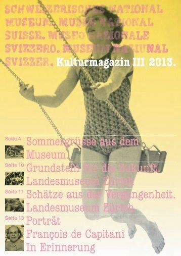 Kulturmagazin 3/2013