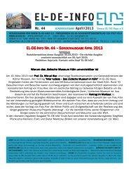 EL-DE-INFO NR. 44 – S - museenkoeln.de